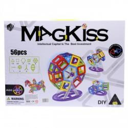 MagKiss 56 darabos mágneses építőjáték - Építőjátékok - Építőjátékok