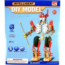 Intelligent - Robot 237 darabos fém építőjáték - Építőjátékok - Építőjátékok
