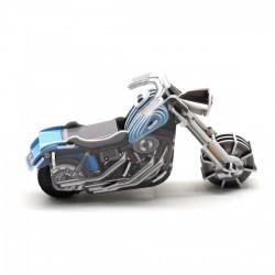 Felhúzható 3D puzzle - chopper motor - PUZZLE játékok - Kirakók, puzzle-ok