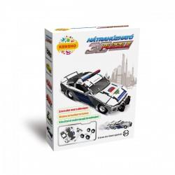 Hátrahúzható 3D puzzle - rendőrautó - PUZZLE játékok - Kirakók, puzzle-ok