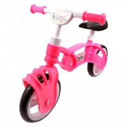 Műanyag futóbicikli - rózsaszín BRINGÁK - Járművek