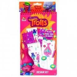 Trolls divattervező készlet - TROLLS játékok - Plüss és állat,-mesefigurák Trolls