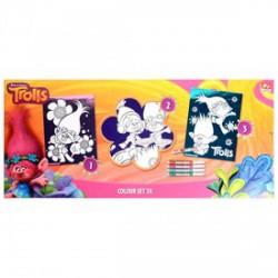Trolls kifesthető kép készlet - TROLLS játékok - Plüss és állat,-mesefigurák