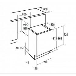 CATA LVI 60014 beépíthető mosogatógép - Beépíthető készülékek