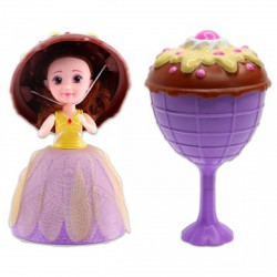Meglepi fagyi kehely baba Juliana - Cupcake - Sütibabák és fagyikehely babák - Cupcake - Sütibabák és fagyikehely babák Cupcake
