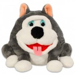 Grimasz Pajtik husky kutyus plüssfigura - 12 cm - Plüss és állat,-mesefigurák - Plüss és állat,-mesefigurák Grimasz Pajtik