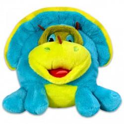 Grimasz Pajtik kisdínó plüssfigura - 12 cm - Plüss és állat,-mesefigurák - Dínós játékok Grimasz Pajtik