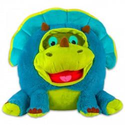 Grimasz Pajtik kisdínó plüssfigura - 30 cm - Plüss és állat,-mesefigurák - Dínós játékok Grimasz Pajtik