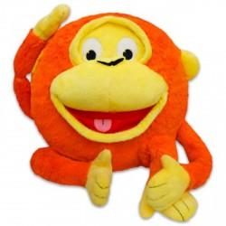 Grimasz Pajtik majom plüssfigura - 30 cm - Plüss és állat,-mesefigurák - Plüss és állat,-mesefigurák Grimasz Pajtik