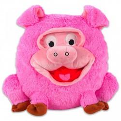 Grimasz Pajtik rózsaszín malac plüssfigura - 30 cm - Plüss és állat,-mesefigurák - Plüss és állat,-mesefigurák Grimasz Pajtik