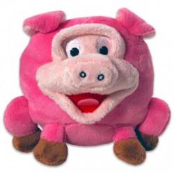 Grimasz Pajtik rózsaszín malacka plüssfigura - 12 cm - Plüss és állat,-mesefigurák - Plüss és állat,-mesefigurák Grimasz Pajtik