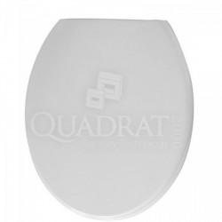 QUADRAT - WC ülőke, műanyag, fehér - Wc ülőkék - Fürdőszobai kiegészítők Quadrat