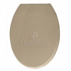 QUADRAT - WC ülőke, műanyag, beige, Vienna - Wc ülőkék - Fürdőszobai kiegészítők Quadrat