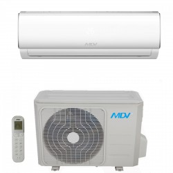 MDV RAF-026A-SP oldalfali split (2,6 kW), klímaberendezés, klíma, inverteres - Klíma berendezések MDV