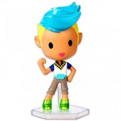 Barbie Videojáték kaland - kék-szőke hajú fiú minifigura - Barbie babák - Barbie babák