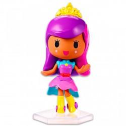 Barbie Videojáték kaland - lila-rózsaszín hajú hercegnő minifigura - Barbie babák - Barbie babák