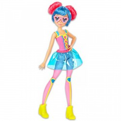 Barbie Videojáték kaland - szívecske szemüveges figura - Barbie babák - Barbie babák Barbie