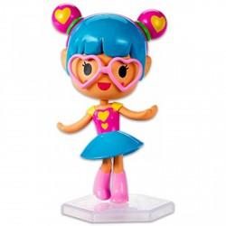 Barbie Videojáték kaland - szívecske szemüveges minifigura - Barbie babák - Barbie babák