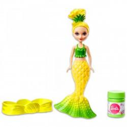 Barbie Dreamtopia - buborékfújó sellőbaba citromsárga - Barbie babák - Barbie babák