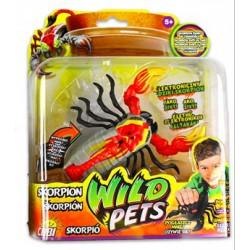 Wild Pets Élethű elektronikus állatkák - Skorpió Játék - Hexbug robothalak, pókok