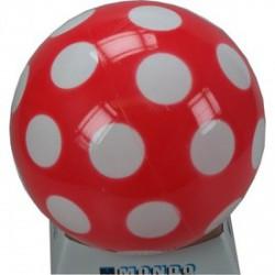 Pöttyös 280mm-es lakkfényű labda - Sportfelszerelés - Sportfelszerelés
