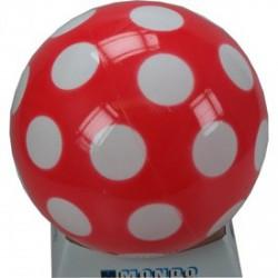 Pöttyös 14cm-es lakkfényű gumilabda - FOCIS játékok - FOCIS játékok