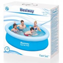 Bestway kerek családi medence - 198x51cm - BESTWAY strandcikkek Bestway