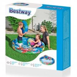 Bestway gyűrűs medence labdával és úszógumival - 112 cm - BESTWAY strandcikkek Bestway