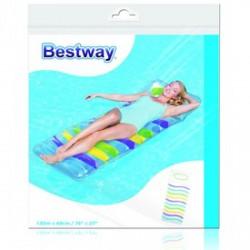 Bestway csíkos matracágy - 185x69cm - BESTWAY strandcikkek Bestway