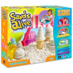 Sands Alive édességkészítő készlet - Moon sand gyurmák