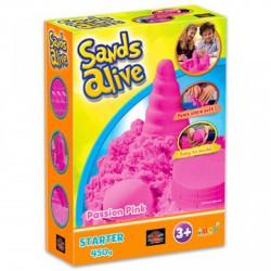 Sands Alive kezdő készlet - pink - Moon sand gyurmák