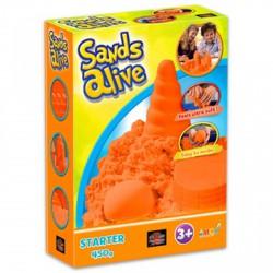 Sands Alive kezdő készlet - narancs - Moon sand gyurmák