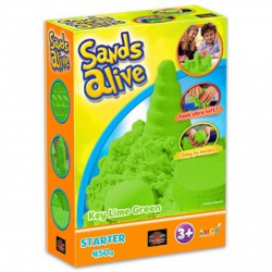 Sands Alive kezdő készlet - zöld - Moon sand gyurmák