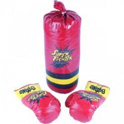 Gyermek boksz készlet - piros - Sportfelszerelés - Sportfelszerelés