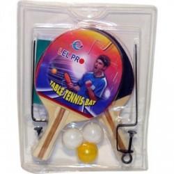 Pingpong ütő 2 darabos készlet labdával és hálóval - Sportfelszerelés - Sportfelszerelés