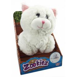 Zookiez cica plüssfigura - fehér, 30 cm - Zookiez plüssfigurák, állatkák - Plüss és állat,-mesefigurák Zookiez
