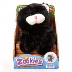 Zookiez cica plüssfigura - fekete, 30 cm - Plüss és állat,-mesefigurák
