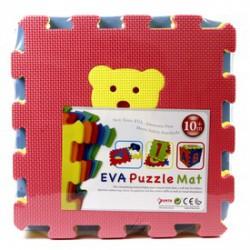 Állatok 10 darabos habszivacs szőnyeg puzzle - Bébijátékok - Bébijátékok