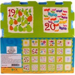 Számok 24 darabos habszivacs szőnyeg puzzle - Bébijátékok - Bébijátékok