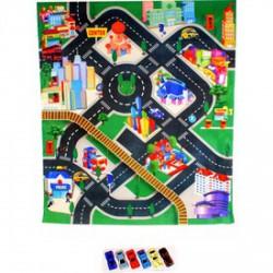Játszószőnyeg farm mintával autókhoz - Pályák, kisautók