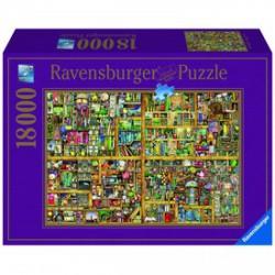 Ravensburger - Colin Thompson: Varázslatos könyves szekrény 18000 darabos puzzle - RAVENSBURGER játékok - Kirakók, puzzle-ok Ravensburger