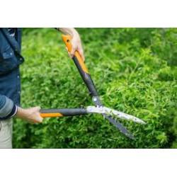 Fiskars PowerGearX™ fém fogaskerekes sövénynyíró 25 év garanciával HSX92 (114006) - Metszőollók, ágvágók, kerti ollók - Metszőollók, ágvágók, kerti ollók Fiskars