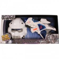 Space Wars űrmaszk és lézerfegyver készlet - Játék fegyverek - Játék fegyverek Space Wars
