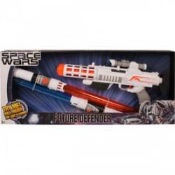 Space Wars világító lézerpuska és fénykard készlet - Játék fegyverek - Játék fegyverek