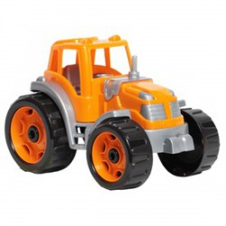 Műanyag színes traktor - többféle színben - Bébijátékok