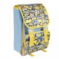Minyonok bővíthető iskolatáska szett 02127 Táska, sulis felszerelés Táska, sulis felszerelés