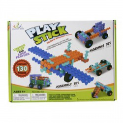 Play Stick rudak 130 darabos építőjáték - PLAY STICK építőjátékok - Építőjátékok Play Stick