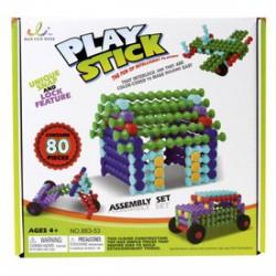 Play Stick rudak 80 darabos építőjáték - PLAY STICK építőjátékok - Építőjátékok Play Stick