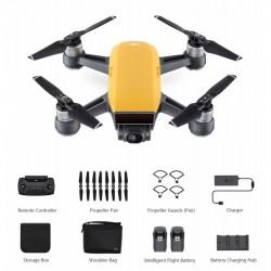 DJI SPARK Fly More Combo Sunrise Yellow drón + ajándék SKIN matrica - DJI drónok - DJI drónok DJI