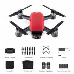 DJI SPARK Fly More Combo Lava Red drón + ajándék SKIN matrica - DJI drónok - DJI drónok DJI